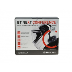 Midland BT NEXT Twin CONFERENCE intercom Bluetooth 2szt