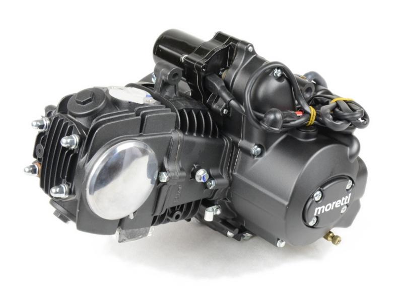 Silnik 125 Ccm Moretti 4t Do Motorowerow 139fmb Tuning Polautomat Jednoslady Sklep