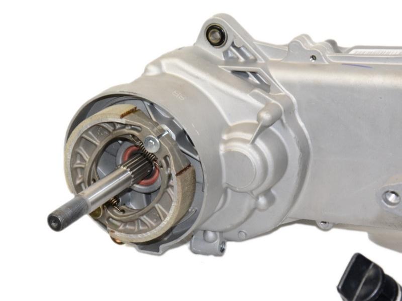 Silnik 80 ccm 4T do skuterów 139QMB GY6 tuning pokrywa 43cm