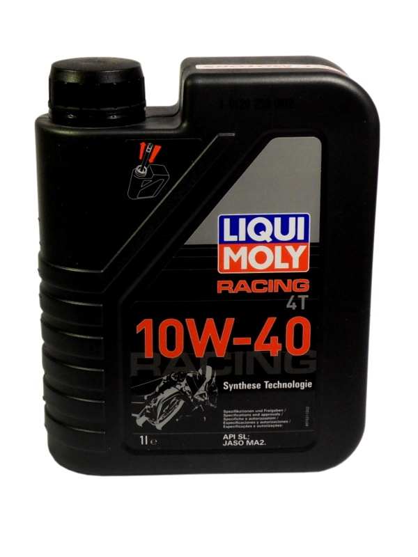 p syntetyczny olej liqui moly racing 4t 10w40 1l jednoslady sklep. Black Bedroom Furniture Sets. Home Design Ideas